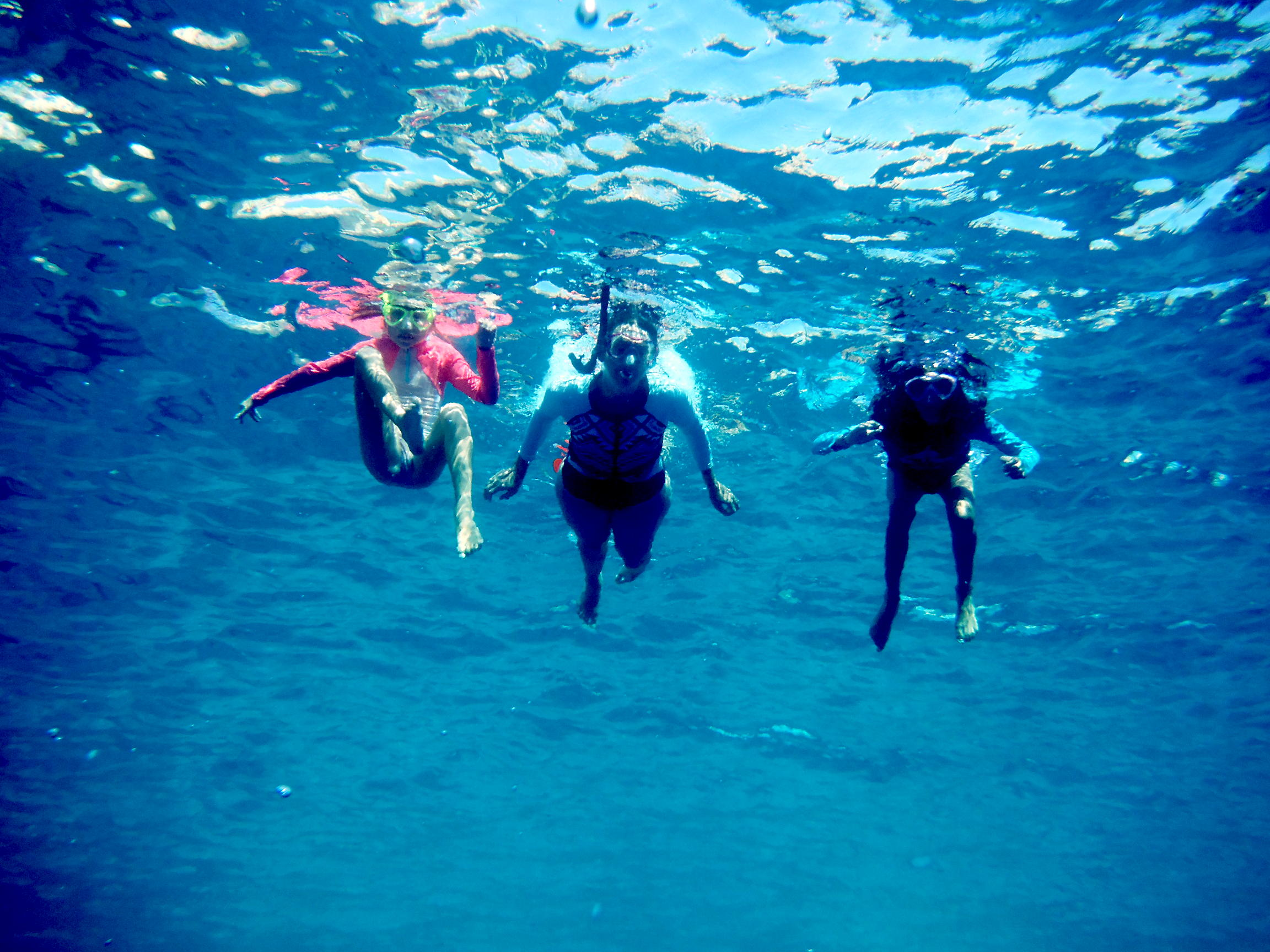 Snorkelling in Antikythira